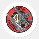 120o Halcón que lucha del F-16 del escuadrón de Etiqueta Redonda