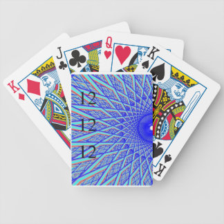 121212 Blue Spoke Playing Cards
