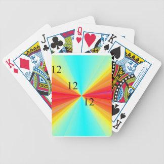121212 Rainbow Playing Cards