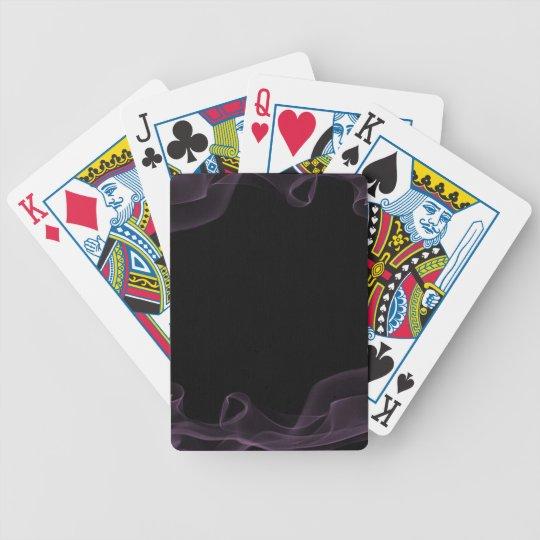 1212 DARK EMO PURPLE B BICYCLE PLAYING CARDS