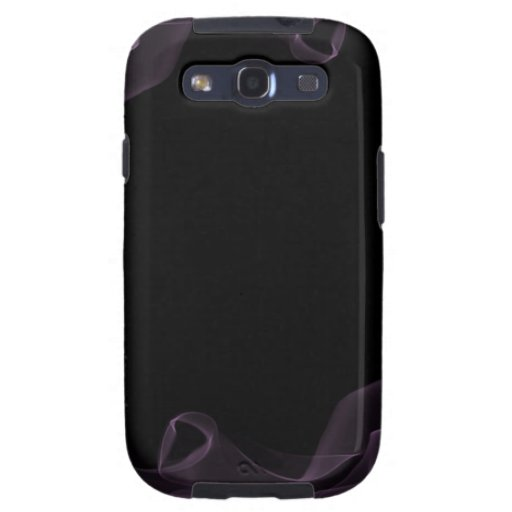 1212 DARK EMO PURPLE B SAMSUNG GALAXY SIII CASES