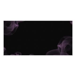 1212 DARK EMO PURPLE BLUE SMOKE BLACK NIGHT GRAPHI CARD