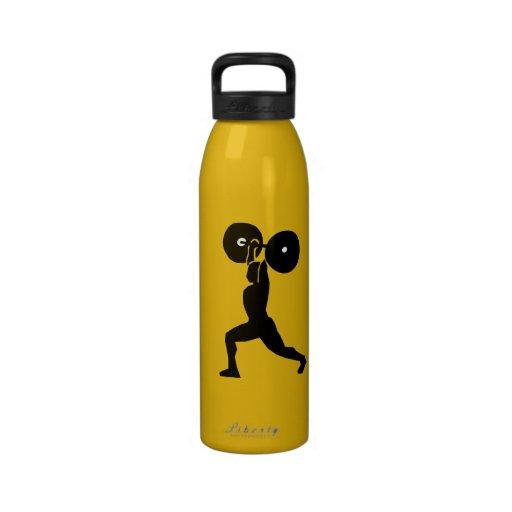 12187847791657656856motudo, weightlifting.svg.hi,  botallas de agua