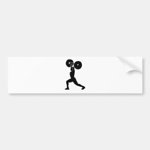 12187847791657656856motudo_WeightLifting.svg.hi Bumper Sticker