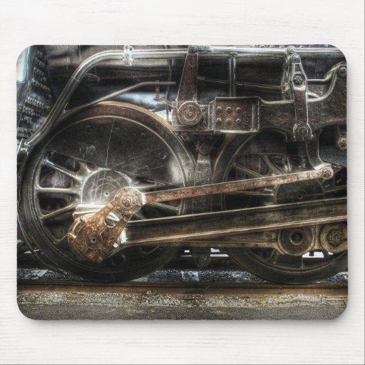 1218 - Tipo-UNo vapor 2-6-6-4 del nanovatio - rued Tapetes De Ratones