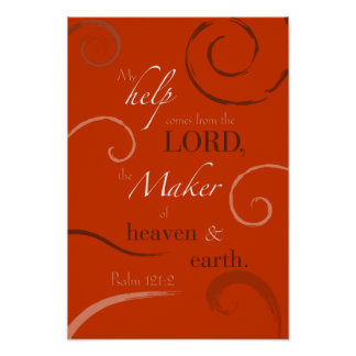 121:2 del salmo posters