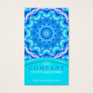 121 Enchanted SeaStar Mandala Business Card