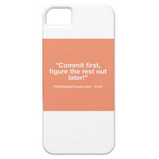 121 Small Business Owner Gift - Commt Now iPhone SE/5/5s Case