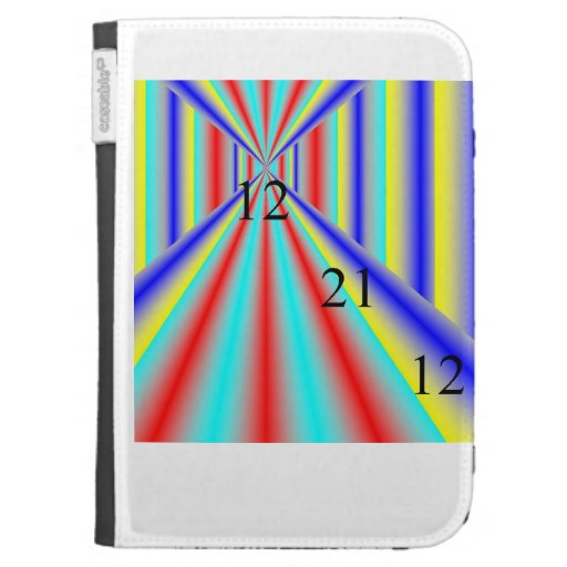 122112 Time Wave Caseable Case Kindle Cases