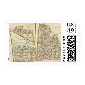 122123 Mt Vernon, Pelham Postage Stamp