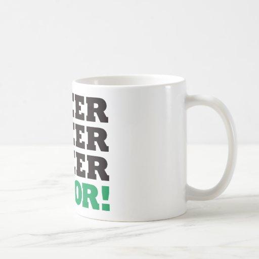 123 Beer Floor - Green Classic White Coffee Mug