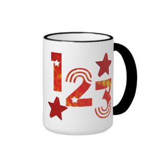 123 darwin taza de dos colores