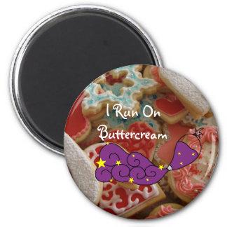123 Dough and Buttercream Magnet