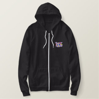 123 EMBROIDERED HOODIE