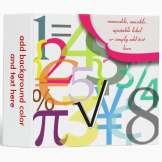 123 Financial binders, math binders Christmas Gift