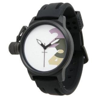 123 / Mens Watch Relojes De Pulsera