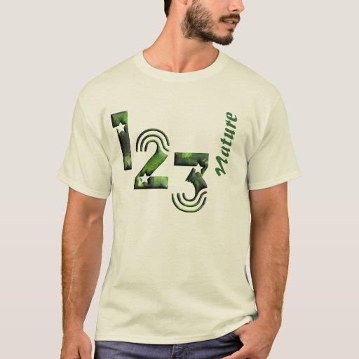 123 nature playera