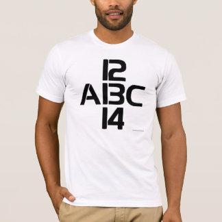 123 o ABC Playera