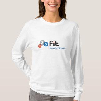 123Fit-Logo-tag-4c-Final copy T-Shirt