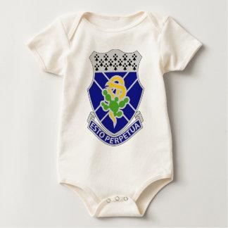 123rd Armored Regiment - ESTO PERPETUA Baby Bodysuit