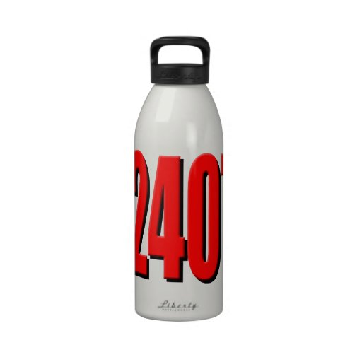 12407 A not very interesting number Reusable Water Bottle