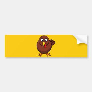 12456965191856571265bloodsong_Turkey-RoundCartoon Car Bumper Sticker