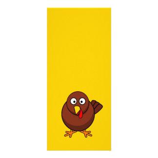 12456965191856571265bloodsong_Turkey-RoundCartoon Full Color Rack Card