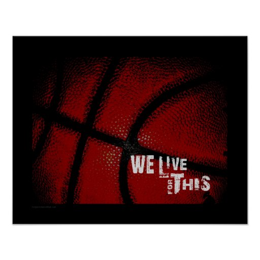 #124 (Matte) Basketball Poster