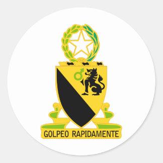 124o Regimiento de caballería Etiquetas Redondas