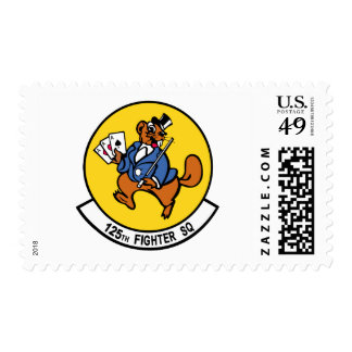 125th Fighter Squadron Postage Stamps