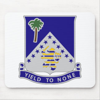 125th Infantry Regiment - Yield To None Mouse Pad
