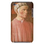 1265-1321) detalles de su busto, franco de Dante A Case-Mate iPod Touch Cárcasa