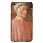 1265-1321) detalles de su busto, franco de Dante A Case-Mate iPod Touch Cobertura
