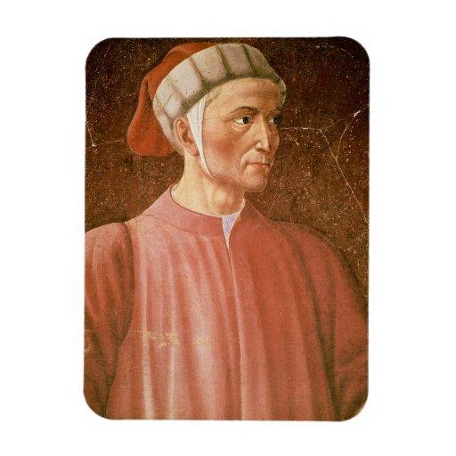 1265-1321) detalles de su busto, franco de Dante A Iman De Vinilo