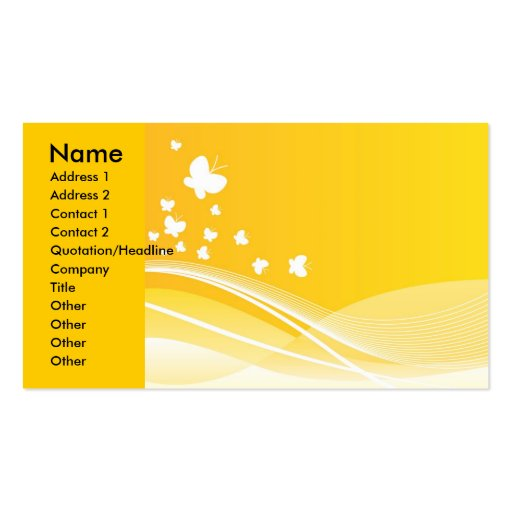 126 , Name, Address 1, Address 2, Contact 1, Co... Double-Sided Standard Business Cards (Pack Of 100)