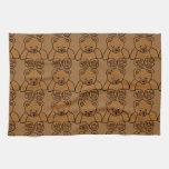 12703-simple-teddy-bear-vector BROWN TEDDY BEAR T Kitchen Towels