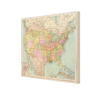 12728 United States Canvas Print