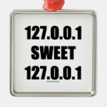 127.0.0.1 Sweet 127.0.0.1 (Home Sweet Home Geek) Christmas Ornament