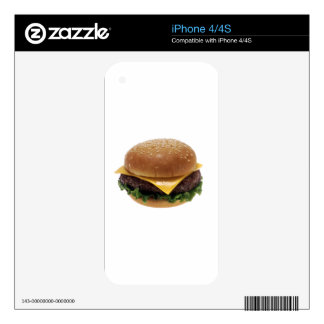 1280px-Cheeseburger.png Decals For The iPhone 4S