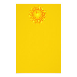 12890 SMILING SUNSHINE HAPPY CARTOON VECTOR GRAPH STATIONERY PAPER