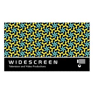 128 con pantalla grande tarjeta de visita
