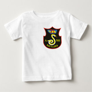 128th AHC Rattlers Baby T-Shirt