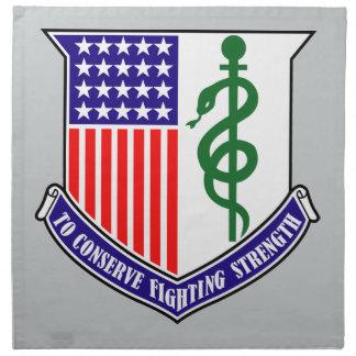 128th Combat Support Hospital Cloth Napkin