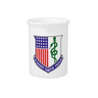 128th Combat Support Hospital Pitcher