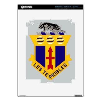128th Infantry Regiment iPad 3 Decals