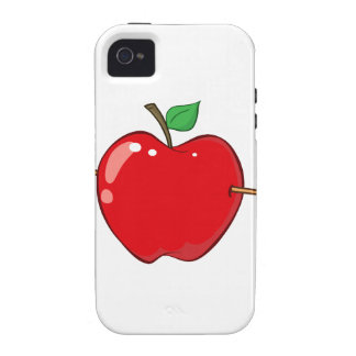 12935_RF_Clipart_Illustration_Arrow RED APPLE ARRO Vibe iPhone 4 Covers