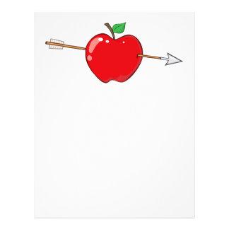 12935_RF_Clipart_Illustration_Arrow RED APPLE ARRO Flyer