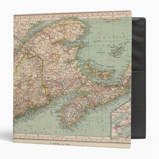 129 Maine, Nova Scotia, New Brunswick, Quebec Binder