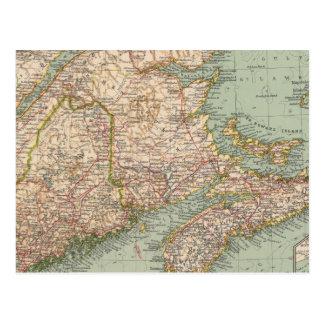 129 Maine, Nova Scotia, New Brunswick, Quebec Postcard