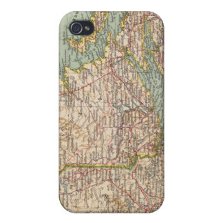 129 Maine, Nueva Escocia, Nuevo Brunswick, Quebec iPhone 4 Fundas